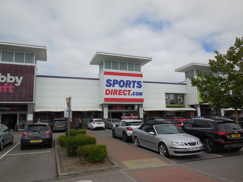 Sports Direct Aylesbury 2018