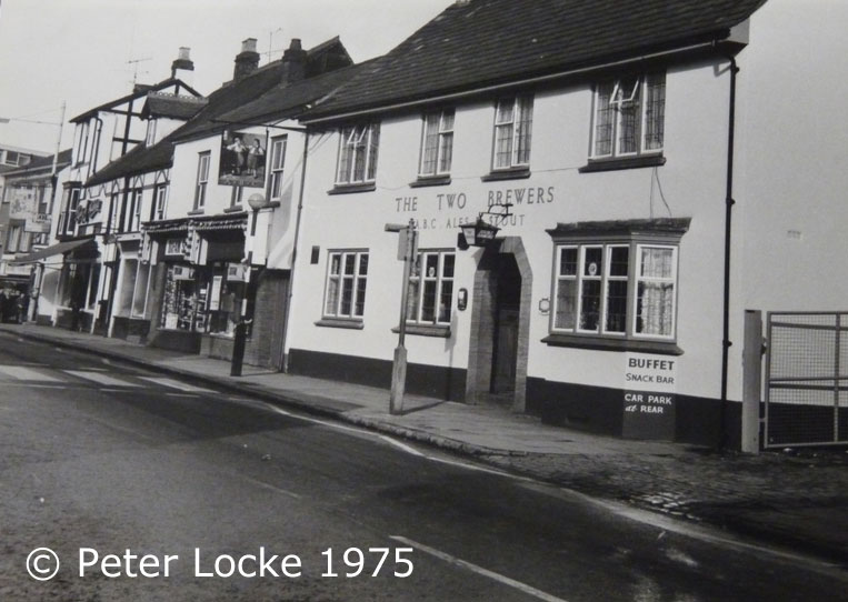 The Two Brewers Aylesbury - Old Photos - Aylesbury's Lost Pubs