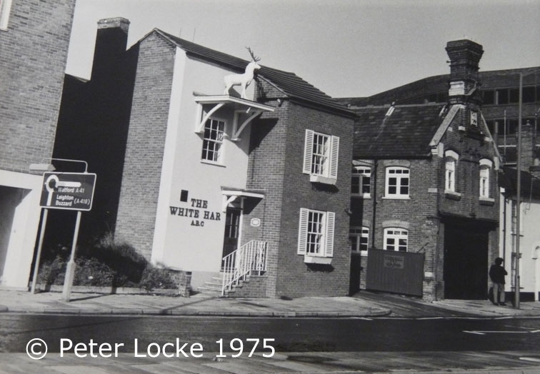 The White Hart Aylesbury - Old Photos - Aylesbury's Lost Pubs