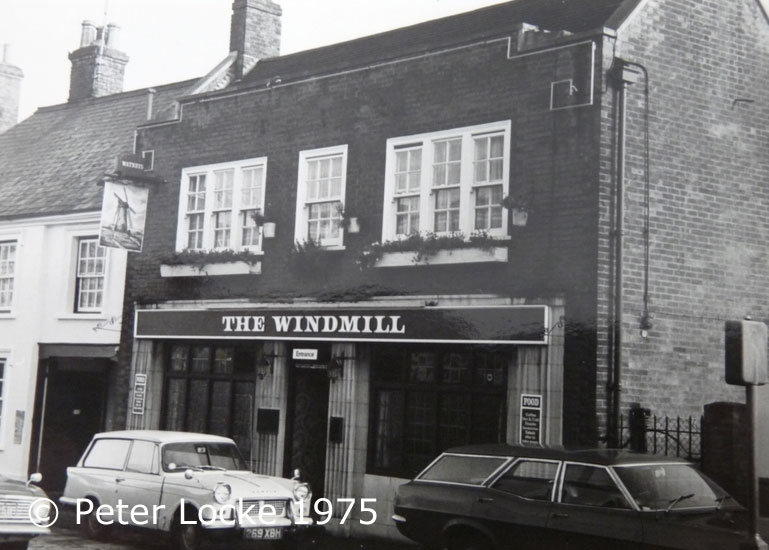 The Windmill Pub Aylesbury - old Photos - Aylesbury's Lost Pubs